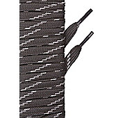 Mountain Warehouse Flat Fleck Boot Laces - 150cm - Grey