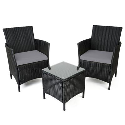 christow rattan table chairs set