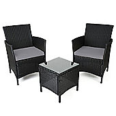 Christow Rattan Table & Chairs Set