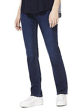 F&F Mid Rise Sim Leg Jeans - Indigo