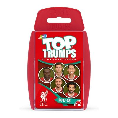 Top Trumps Liverpool FC 2017/18 Card Game