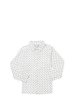 Minoti Dash Print Shirt - Cream