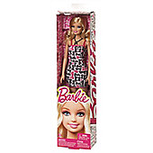 Barbie Basic Doll - White Pink And Black Writing