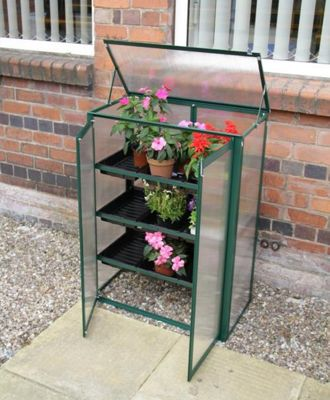 Polycarbonate Mini Greenhouse Green/Cold frame