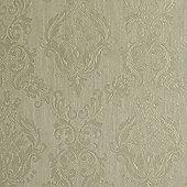 Superfresco Damask Shimmer Green Wallpaper