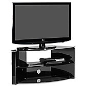 Techlink B3B TV Stand - Black - Upto 55 Inch