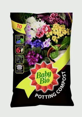 Baby Bio House Plant Compost - 10 Litre