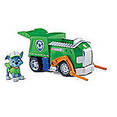 Paw Patrol Rocky's Recycling Truck Vehicle with Figure