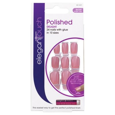 Elegant Touch Polished Nails Delight