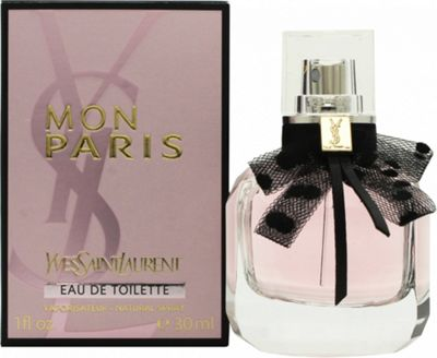 Yves Saint Laurent Mon Paris Eau de Toilette (EDT) 30ml Spray For Women