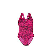 Speedo Endurance®10 Boom Print Swimsuit - Pink