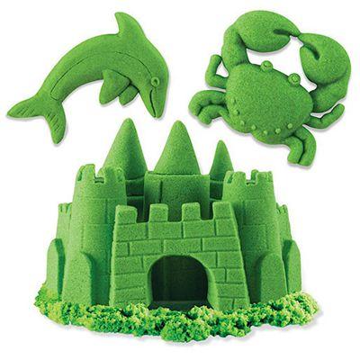 Kinetic Sand 8oz Neon Box -Green