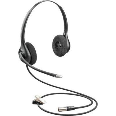Plantronics HW261N-DC Binaural Head-band Black headset