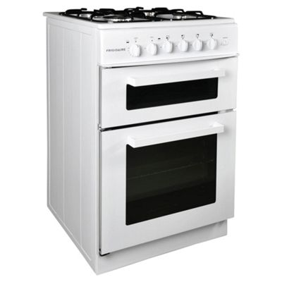 Frigidaire FG50T11W Twin Cavity Gas Cooker