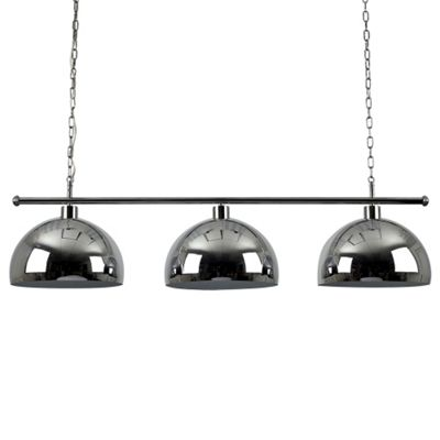 Gulliver 3 Way Suspended Over Table Light, Chrome