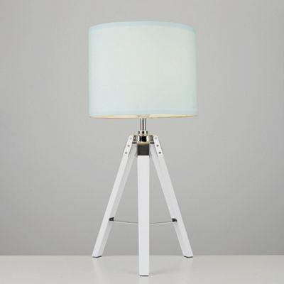 Marine 55cm LED Tripod Table Lamp, White - 3000K