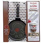 Tefal 25cm Animal Pancake Pan With Jar Of Nutella