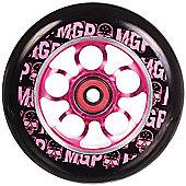 Madd Gear MGP Aero Skull 110mm Scooter Wheel Including Bearings - Pink