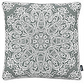 Rocco Portobello Grey Cushion Cover - 43x43cm