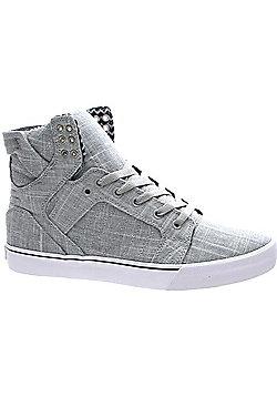 Supra Skytop Grey/White Shoe - Grey