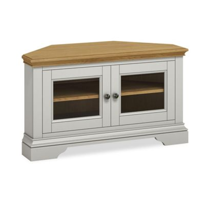 Normandy Painted Corner TV Stand - TV Stand