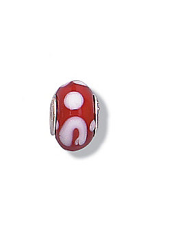 Jo For Girls Hopscotch Glass Slide On Bead