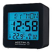 Acctim 71663 Kale Alarm Clock Radio - Black