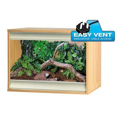 Viv-exotic Viva+ Vivarium Small - Oak