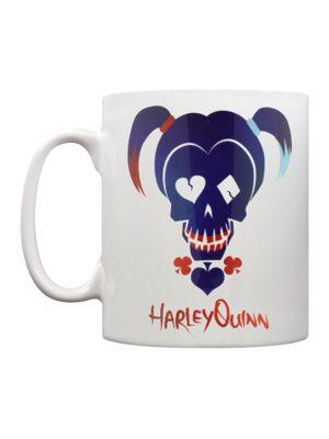 Suicide Squad Harley Quinn Skull 10oz Ceramic Mug