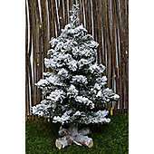 Toronto Mini Snowy Christmas Tree - 1.5ft - 45cm