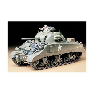 U.S. Medium Tank M4 Sherman (Early Production) - 1:35 Scale Military - Tamiya