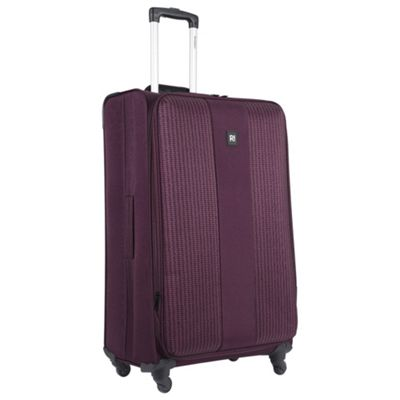 Buy Revelation! by Antler Cuba 4-Wheel Large Purple Suitcase from ...