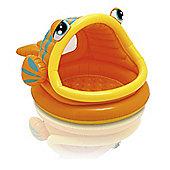 Intex Inflatable Lazy Fish Baby Shade Pool
