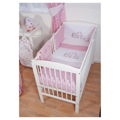 Red Kite Cosi Cot Bedding Set Hello Ernest, Pink