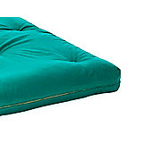 Comfy Living 2ft6 Small Single Futon Mattress in Glade Green