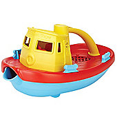 Green Toys Tugboat (Yellow)