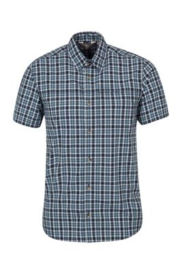Mountain Warehouse Holiday Mens Cotton Shirt 100% Cotton with Easy Care &