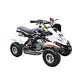 50cc Mini Petrol Quad Bike Dirt Ninja Style OffRoad Kids Quad Bike Pink &