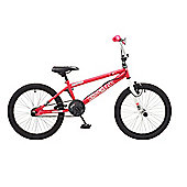 "Rooster Radical Kids 20"" Wheel Freestyle BMX Bike Pink"