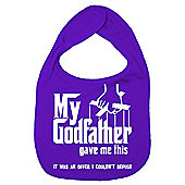 Dirty Fingers My Godfather gave me offer I couldn't refuse Bib Purple