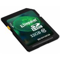 Kingston 32GB SDHC Media Card (Class 10) CBID:2351553