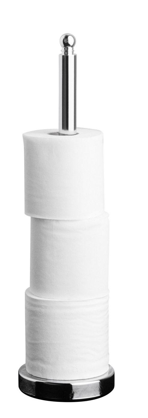 Premier Housewares Multi Toilet Paper Holder in Chrome
