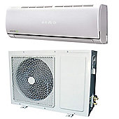 ElectrIQ eIQ-24WMINV Easy-fit Inverter Wall Split Air Conditioner, 24000 BTU - White