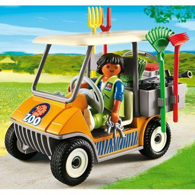Playmobil 6636 City Life Zookeeper's Cart