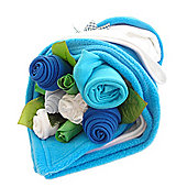 Traditional Turquoise Baby Bouquet Bundle