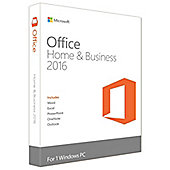 Microsoft Office Home and Business 2016 - Lifetime - 1 User