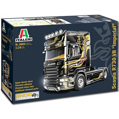 Italeri Scania R730 V8 Topline Imperial 3883 1:24 Truck Lorry Model Kit