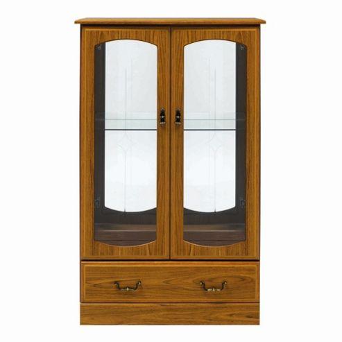 Caxton Tennyson Low Display Cabinet in Teak