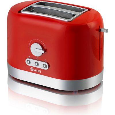 Swan ST10020REDN 2 Slice Toaster - Red