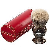 Kent Large Size Badger Bristle Horn Shaving Brush - H12